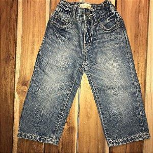 PLACE 1989 calça jeans 12-18 meses