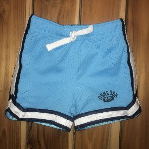 OSHKOSH short gym turquesa 12 meses