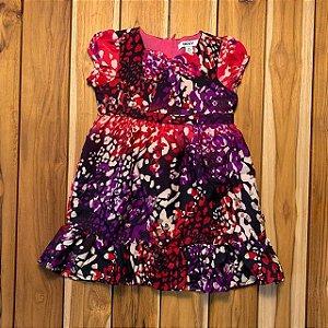 DKNY vestido estp lilás e rosa 3 anos