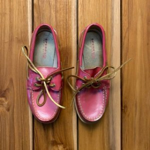 SPERRY top sider rosa USA 12,5 BRA 29