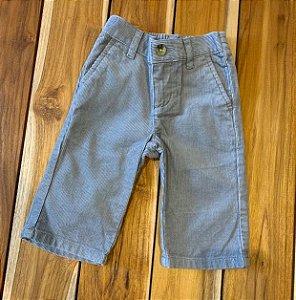 JANIE AND JACK calça veludo cinza 3-6 meses