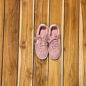 CHAMPION tênis de camurça rosa USA 2 BRA 32