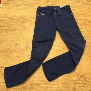 DIESEL calça azul 5 anos