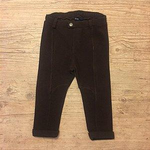 BABY GAP calça legging marrom estilo montaria  18-24 meses
