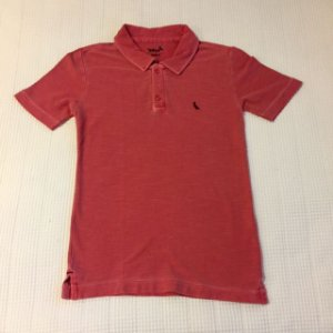 RESERVA MINI camisa polo vermelha 8 anos