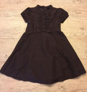 BABY GAP vestido marrom 5 anos