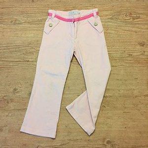 EPK calça de veludo rosa 5 anos