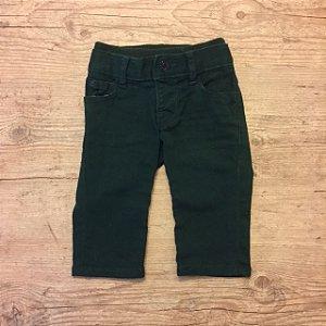 BABY GAP calça verde 0-3 meses