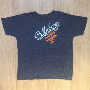 BILLABONG camiseta cinza mescla 5 anos