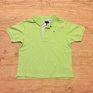 TOMMY HILFIGER camisa polo verde água 2 anos