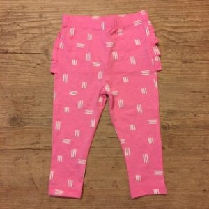 CAT AND GIRL legging rosa babados 12 meses 39,00