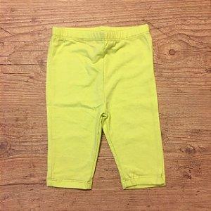 KIDS legging amarela 12 meses