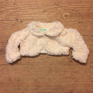 NANNETTE casaco tipo bolero pelos sintetico 3-6 meses