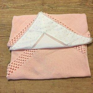 UPIA manta de linha rosa + vira manta