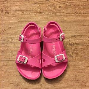 BIRKENSTOCK sandália de plástico rosa EU 28 BRA 27