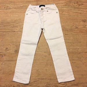 LEVIS calça branca 5 anos