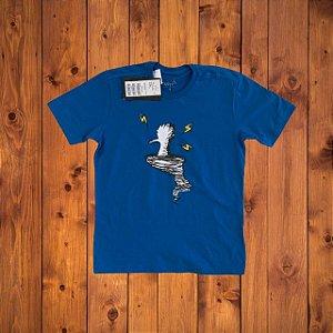RESERVA MINI camiseta azul 8 anos