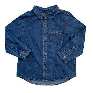 ZARA camisa social jeans 18-24 meses