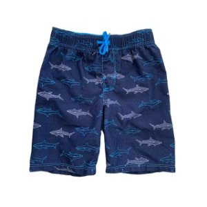 OLD NAVY short praia azul tubarão 5 anos