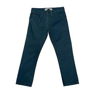ZARA calça de sarja verde 3-4 anos NOVA
