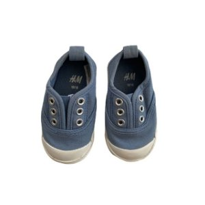 H&M tênis canvas azul EU 18 BRA 17