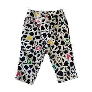 BABY GAP BY DKNY calça branca estp DKNY 6-12 meses