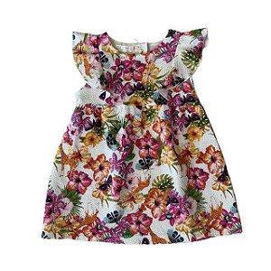 ZARA vestido florido 12-18 meses