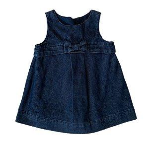 BABY GAP vestido jeans escuro 3-6 meses