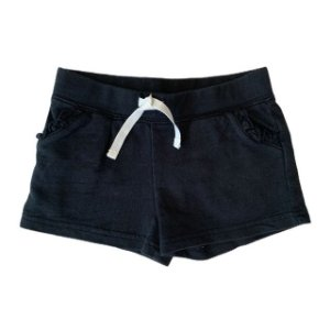 CARTERS short moletom preto 2 anos