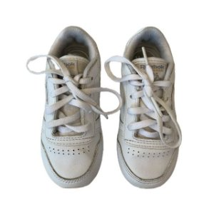 REEBOK tênis couro branco USA 6 BRA 21
