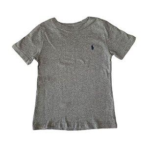 RALPH LAUREN camiseta lisa cinza 24 meses