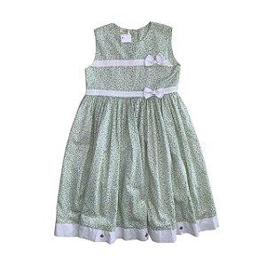 NININI vestido algodão florido 5 anos