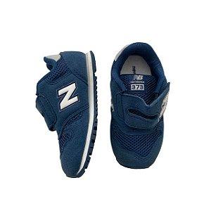 NEW BALANCE tênis azul velcro USA 8 BRA 24