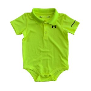 UNDER ARMOUR body polo amarelo 9-12 meses