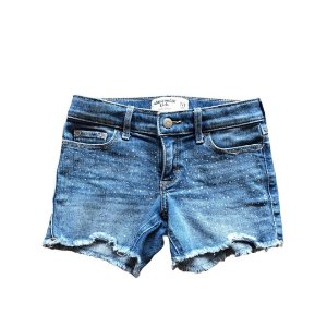 ABERCROMBIE short jeans strass 7-8 anos