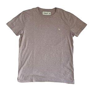ABERCROMBIE camiseta lilás XS 12 anos