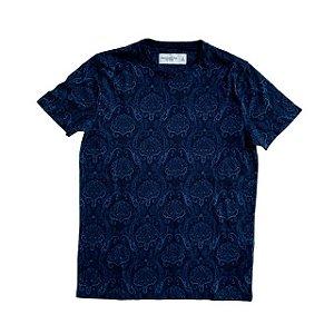ABERCROMBIE camiseta marinho estp cashmere S 13-14 anos