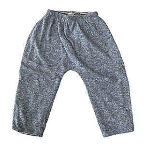 BABY GAP calça malha mescla azul 12-18 meses