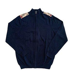 BURBERRY casaco de linha preto 10 anos
