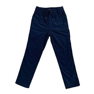 GAP KIDS calça nylon marinho forro malha cinza 10 anos
