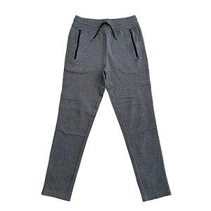 GAP KIDS calça moletom cinza slim 12-13 anos (modelagem pequena)