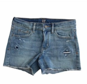 GAP KIDS short jeans claro 10 anos