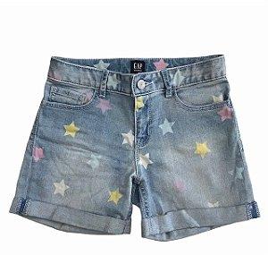 GAP KIDS short jeans estp estrela 10 anos