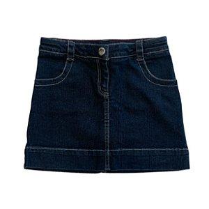 JACADI saia jeans escuro 6 anos