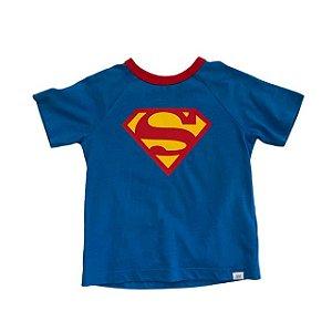 BABY GAP camiseta super homem 2 anos