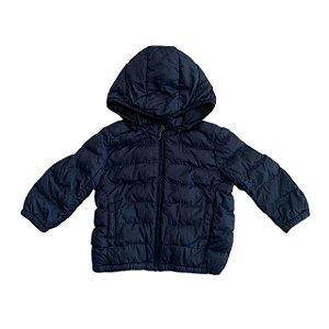 UNIQLO casaco nylon marinho 18-24 meses