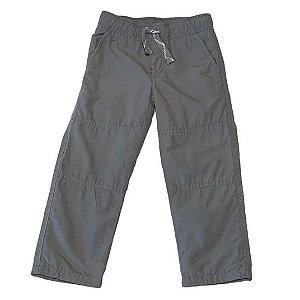 GYMBOREE calça cinza forro malha ( modelagem pequena ) 3 anos
