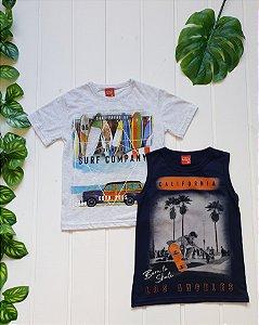 Camiseta Infantil Masculina - Combo 2 peças