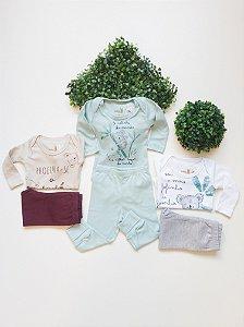Conjunto Bebê Body + Culote