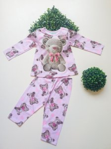 Pijama 4 a 8 Feminino Longo